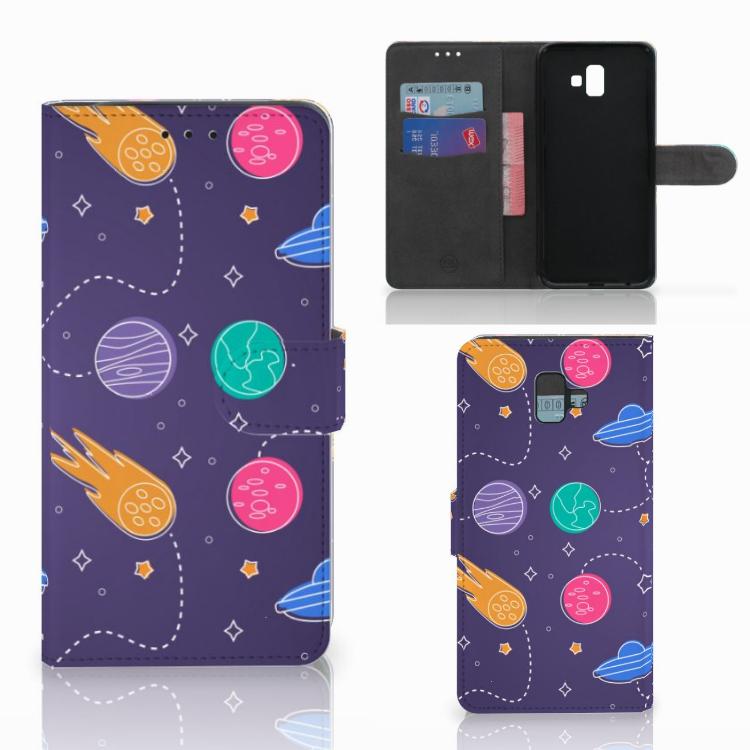Samsung Galaxy J6 Plus (2018) Wallet Case met Pasjes Space
