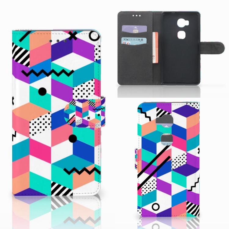 Huawei Honor 5X Bookcase Blokken Kleurrijk