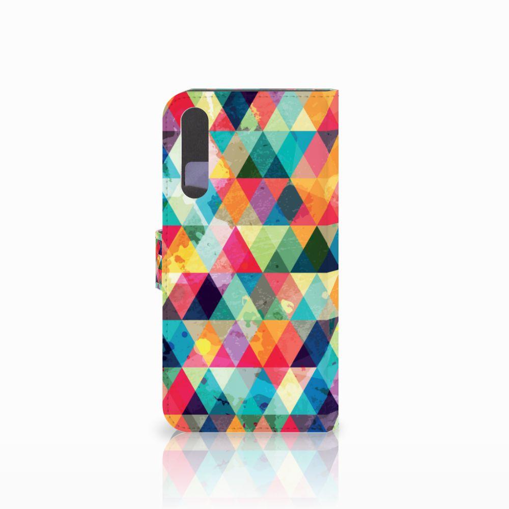 Huawei P20 Pro Telefoon Hoesje Geruit