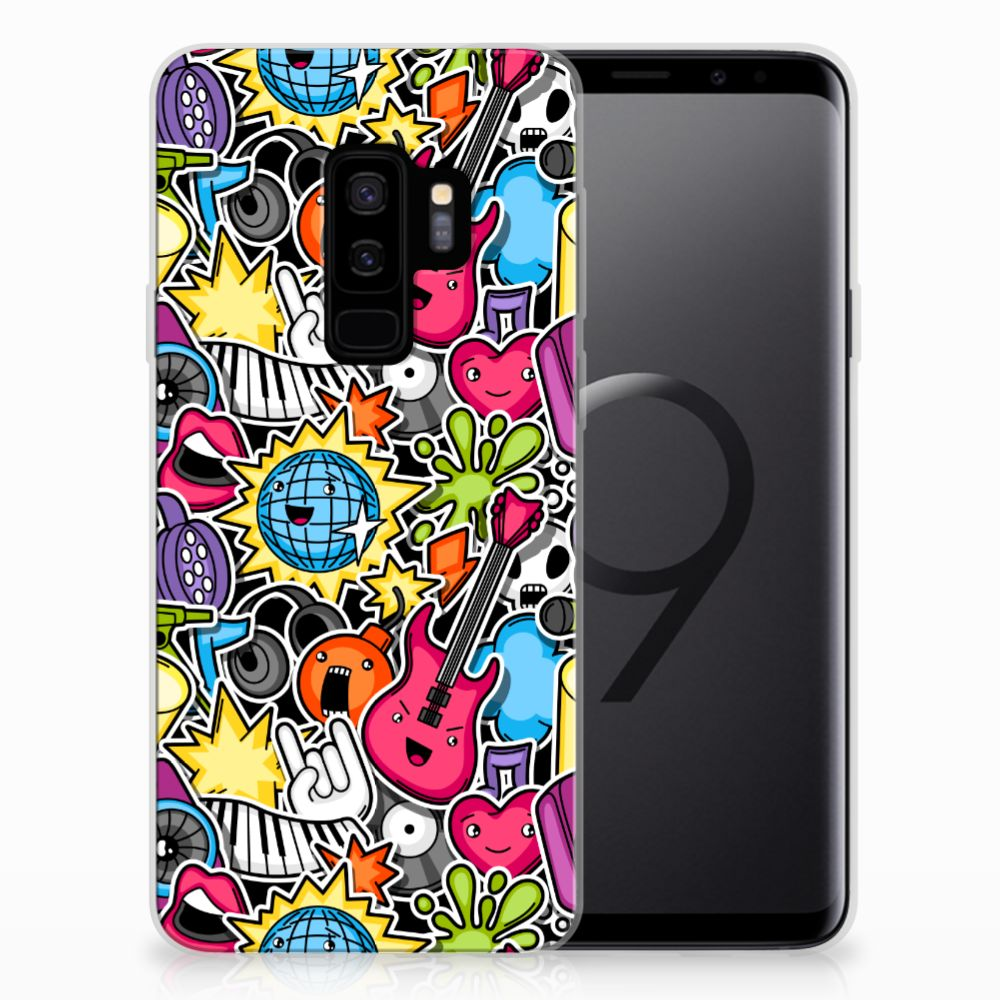 Samsung Galaxy S9 Plus Silicone Back Cover Punk Rock