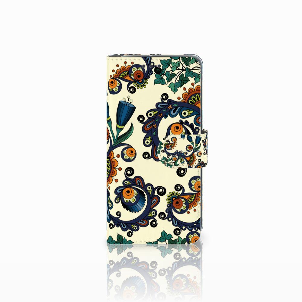 HTC U11 Life Boekhoesje Design Barok Flower