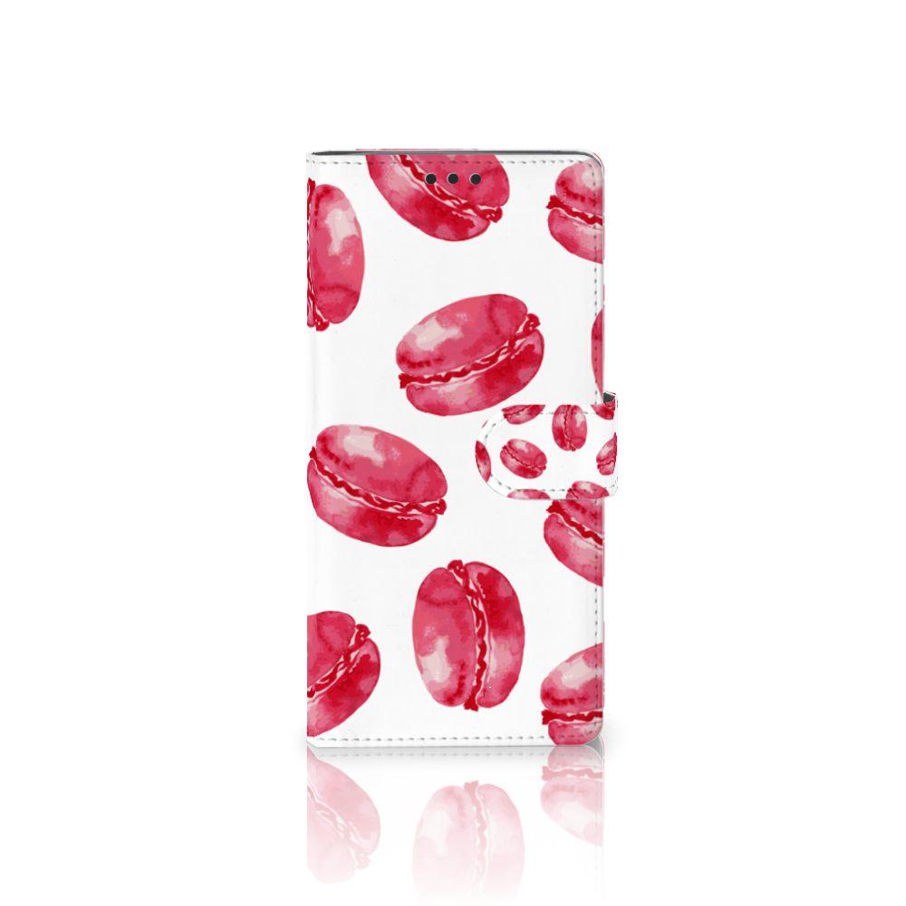 Sony Xperia XA Ultra Boekhoesje Design Pink Macarons