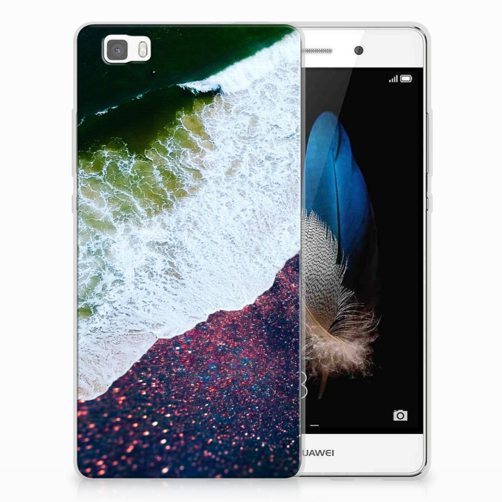 Huawei Ascend P8 Lite TPU Hoesje Sea in Space