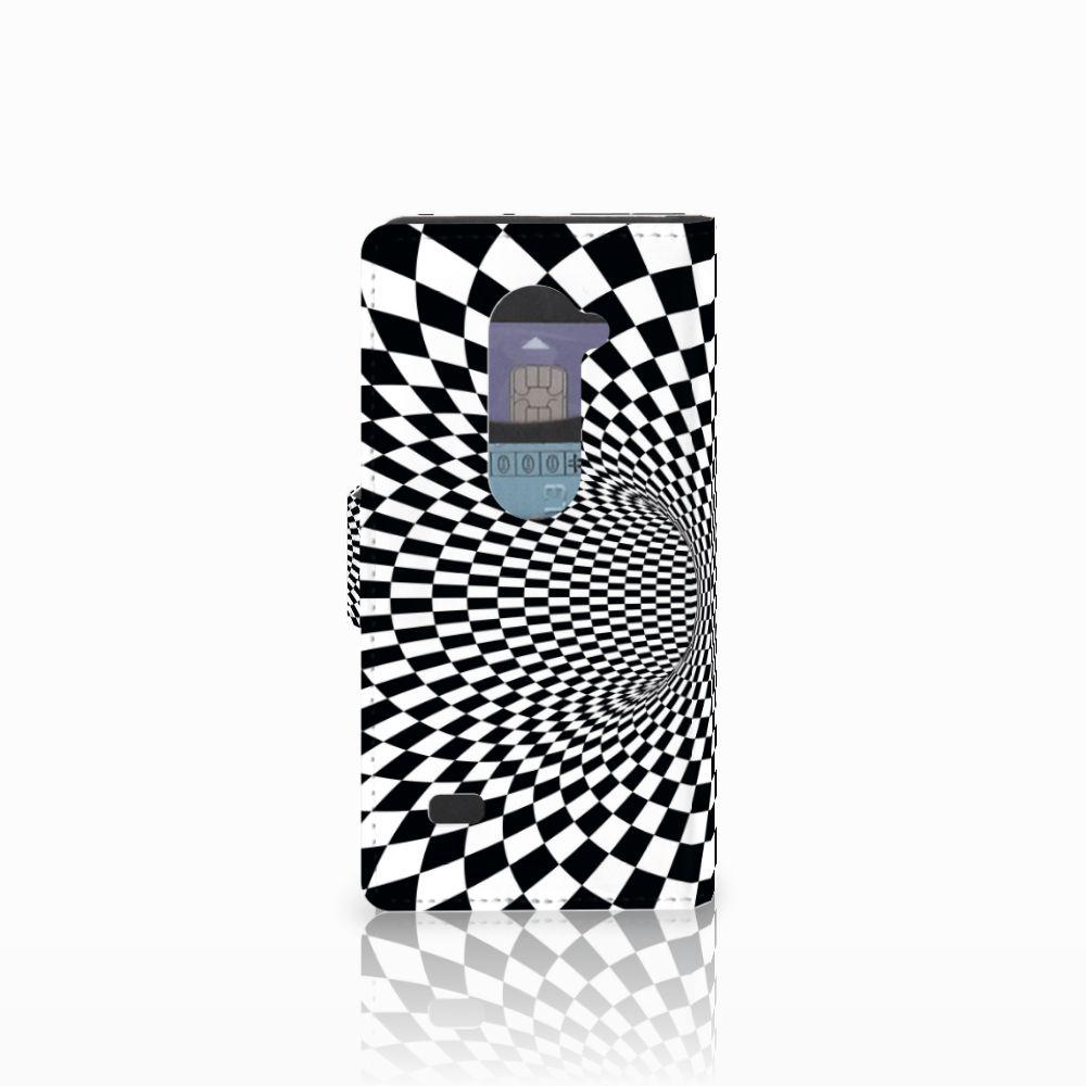 LG Leon 4G Bookcase Illusie