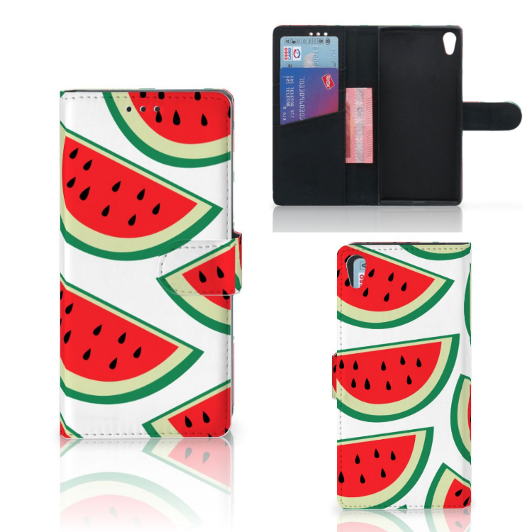 Sony Xperia XA1 Ultra Book Cover Watermelons