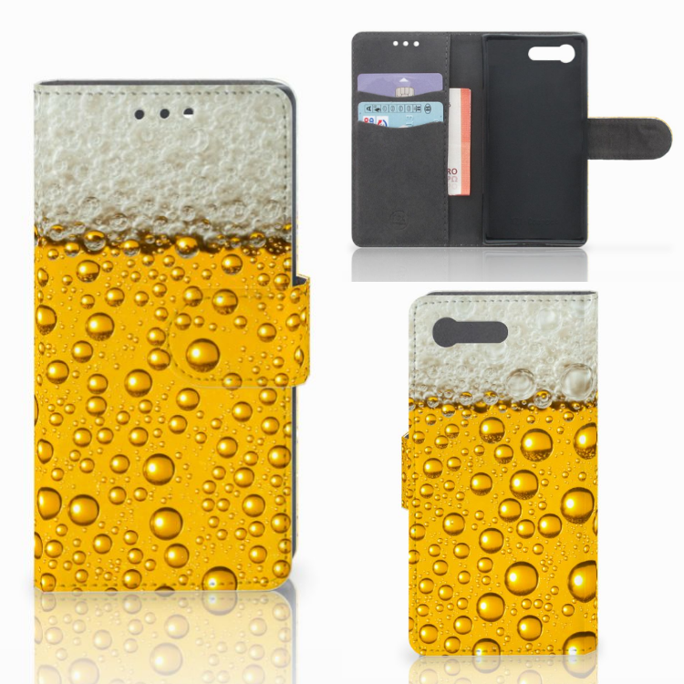 Sony Xperia X Compact Book Cover Bier