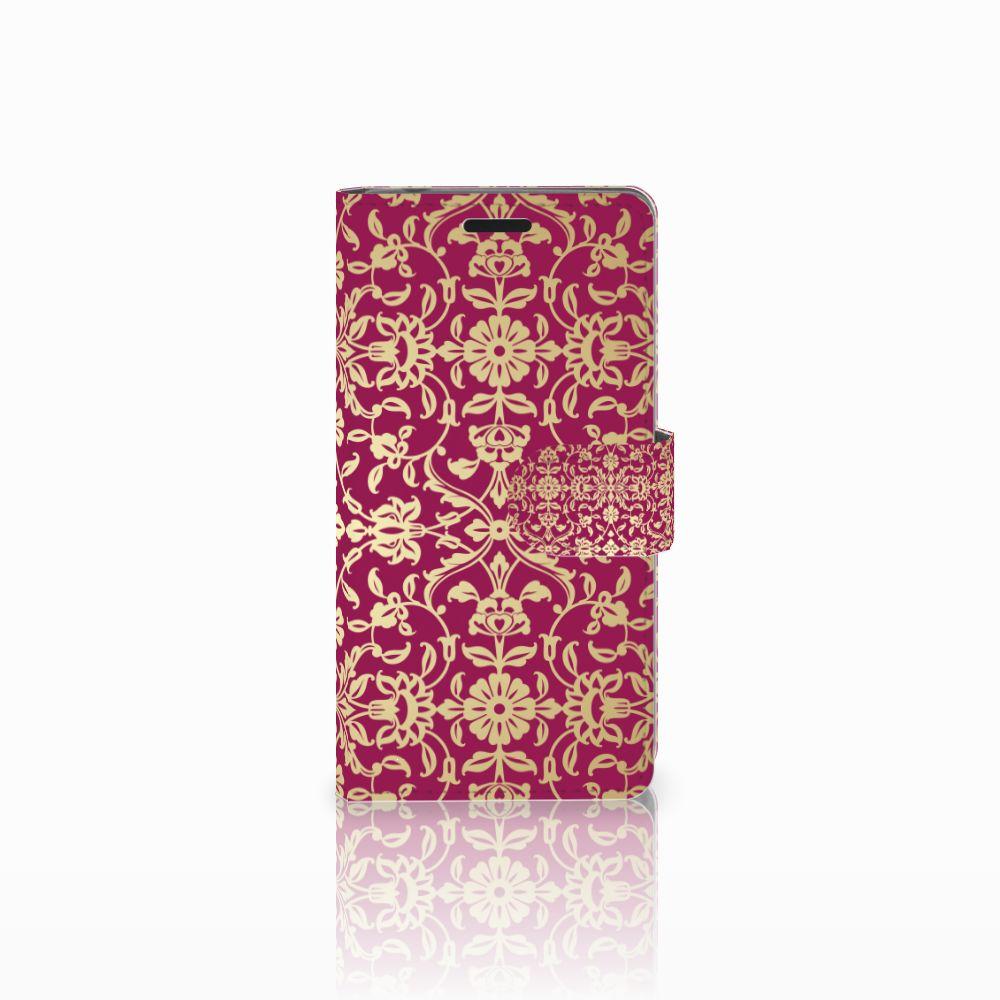 Sony Xperia E3 Boekhoesje Design Barok Pink