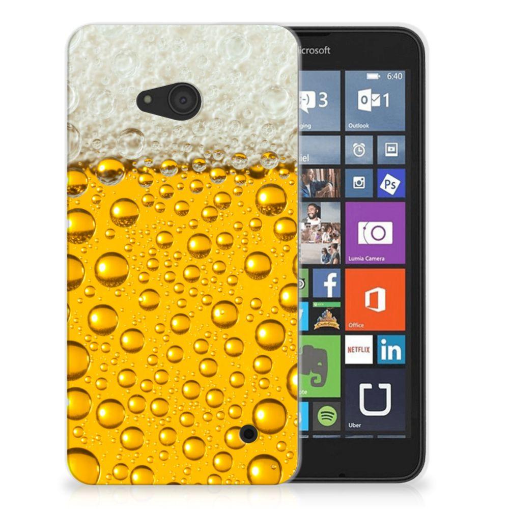 Microsoft Lumia 640 Siliconen Case Bier