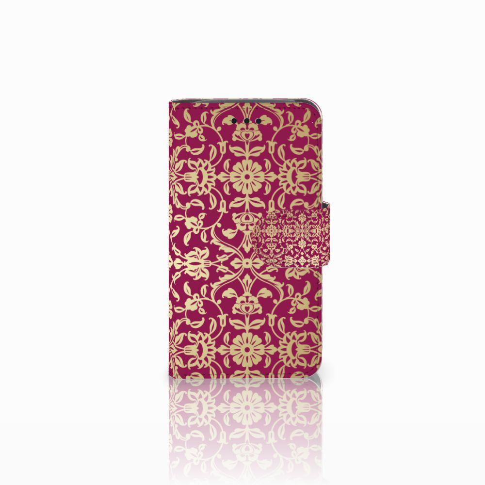 Samsung Galaxy Core i8260 Boekhoesje Design Barok Pink