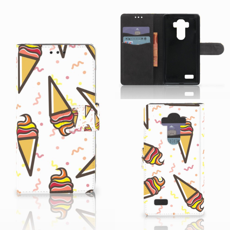 LG G4 Book Cover Icecream