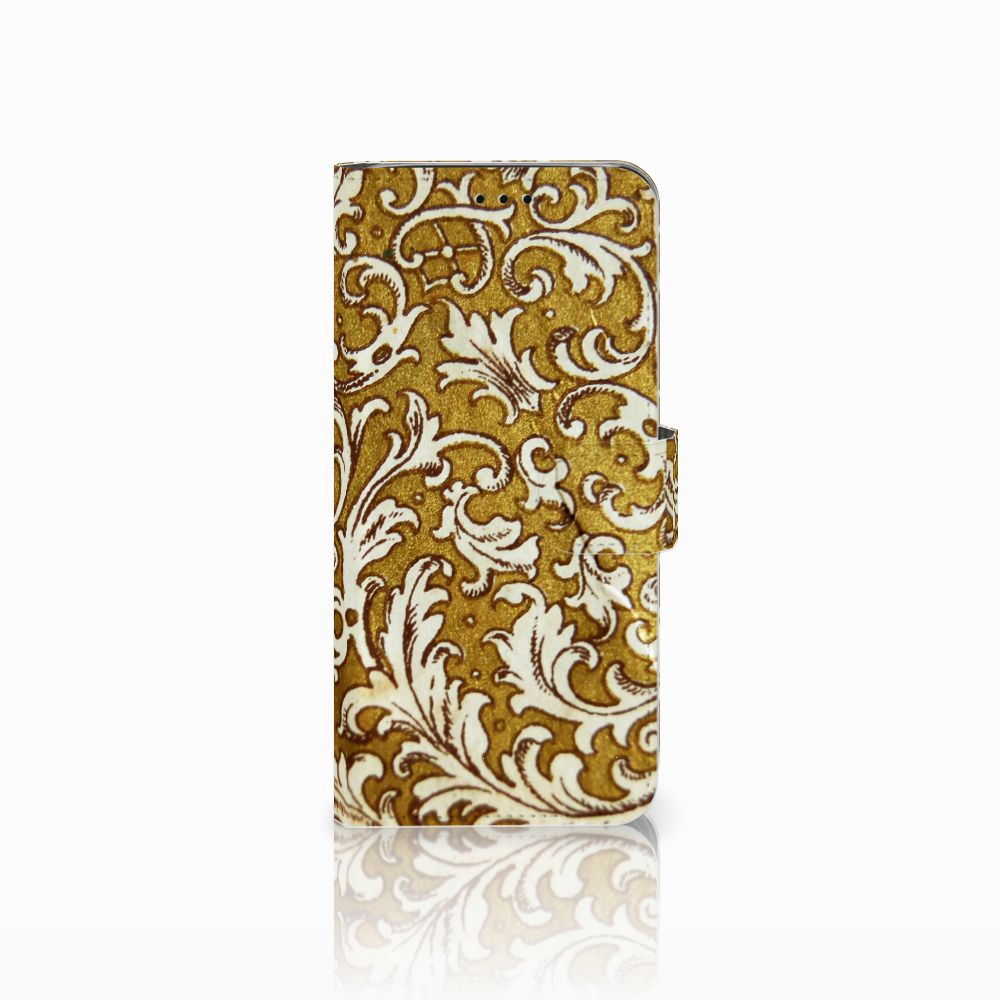 Wallet Case Samsung Galaxy J6 2018 Barok Goud