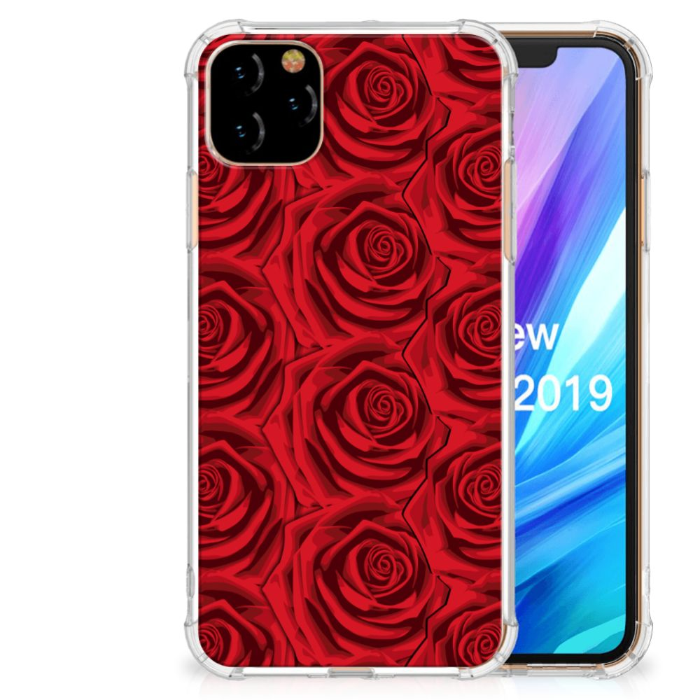 Apple iPhone 11 Pro Max Case Red Roses