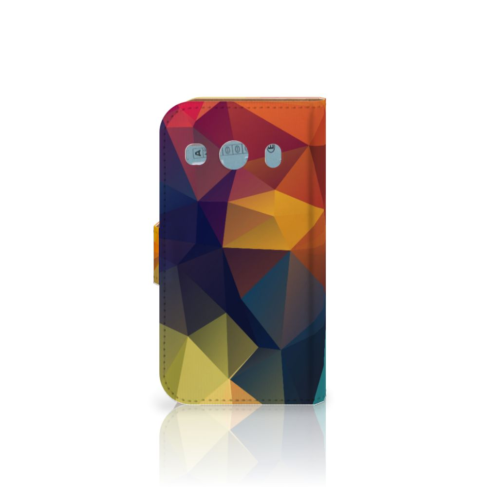 Samsung Galaxy Ace 4 4G (G357-FZ) Bookcase Polygon Color