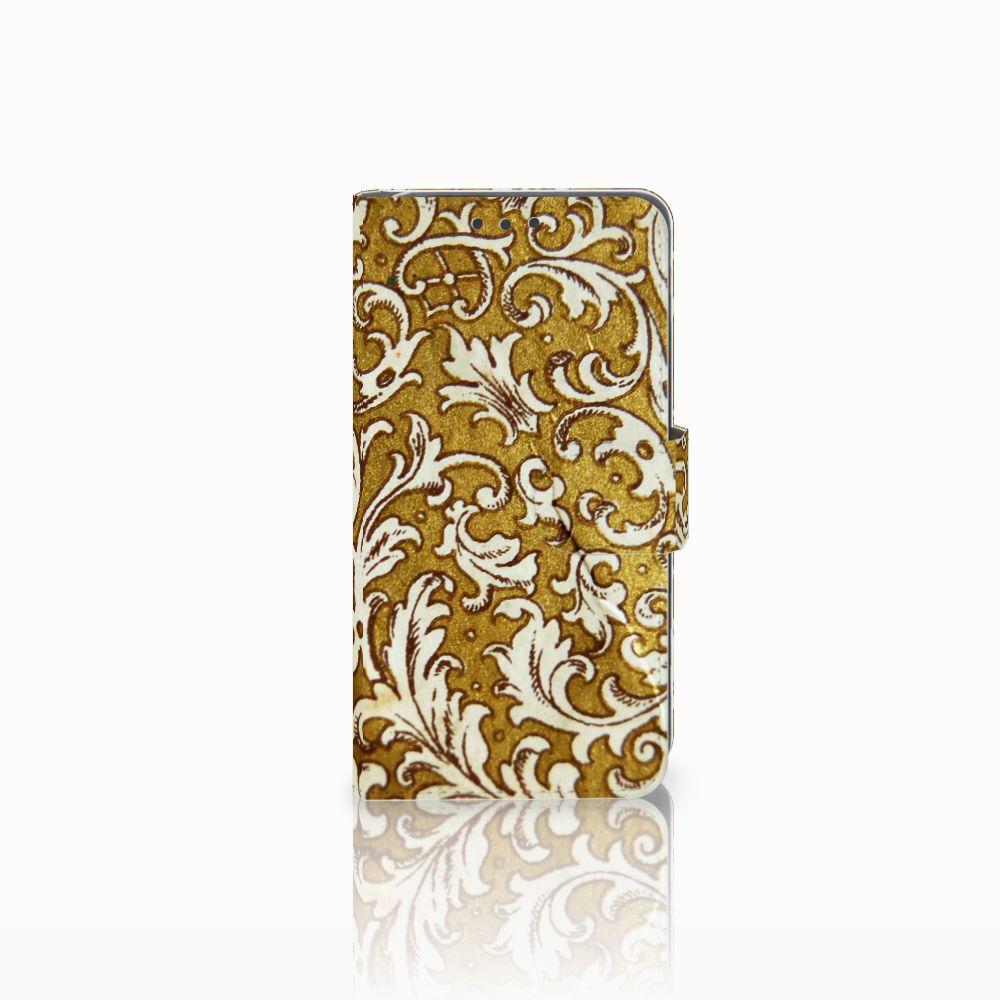 Wallet Case Huawei Y5 2 | Y6 II Compact Barok Goud