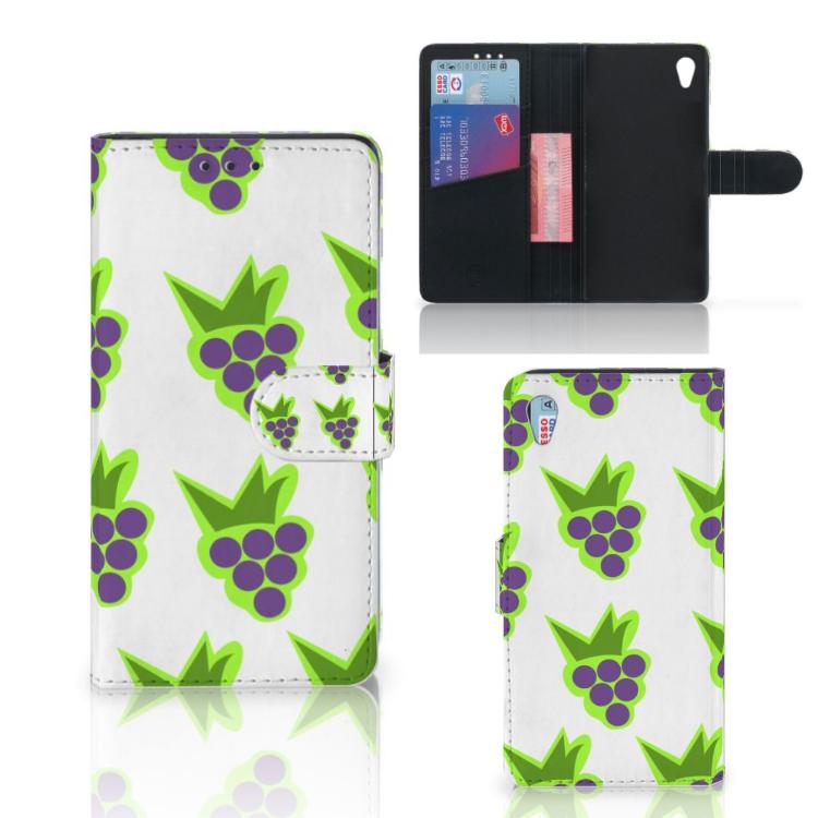 Sony Xperia Z3 Book Cover Druiven