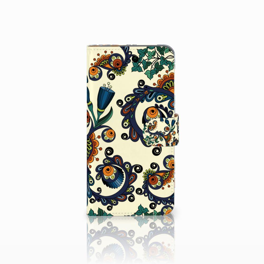 Huawei Nova Plus Boekhoesje Design Barok Flower