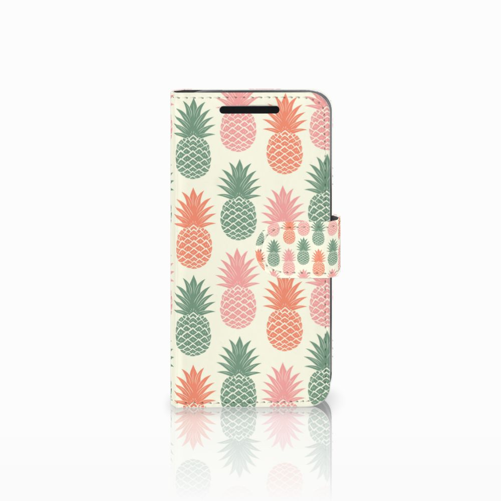 HTC One M9 Boekhoesje Design Ananas