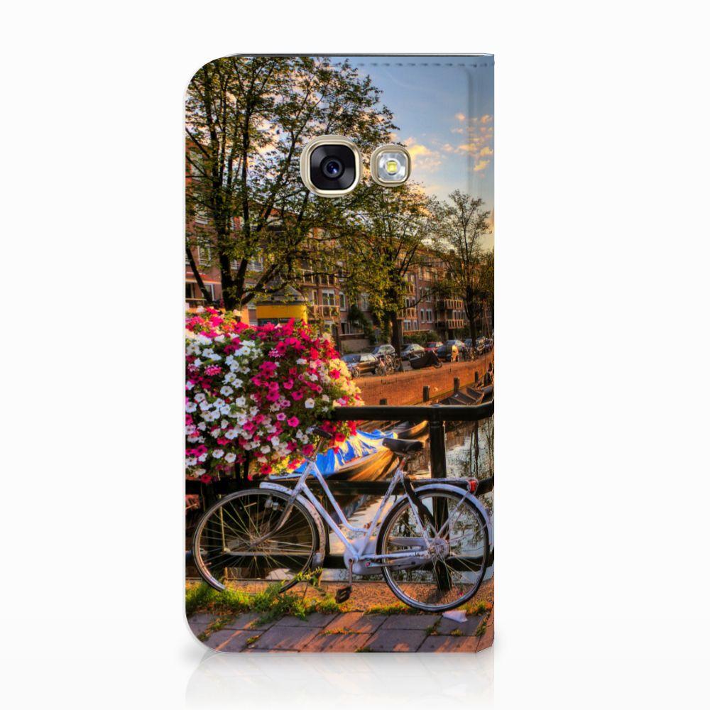 Samsung Galaxy A3 2017 Uniek Standcase Hoesje Amsterdamse Grachten