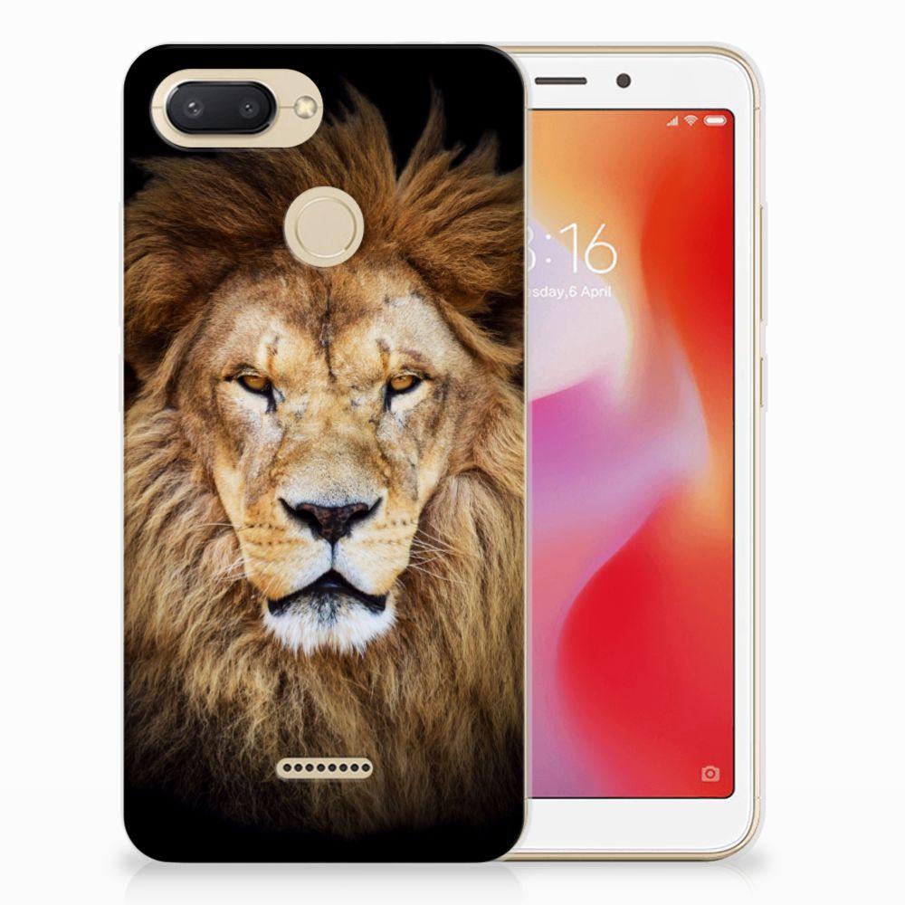 Xiaomi Redmi 6 TPU Hoesje Leeuw