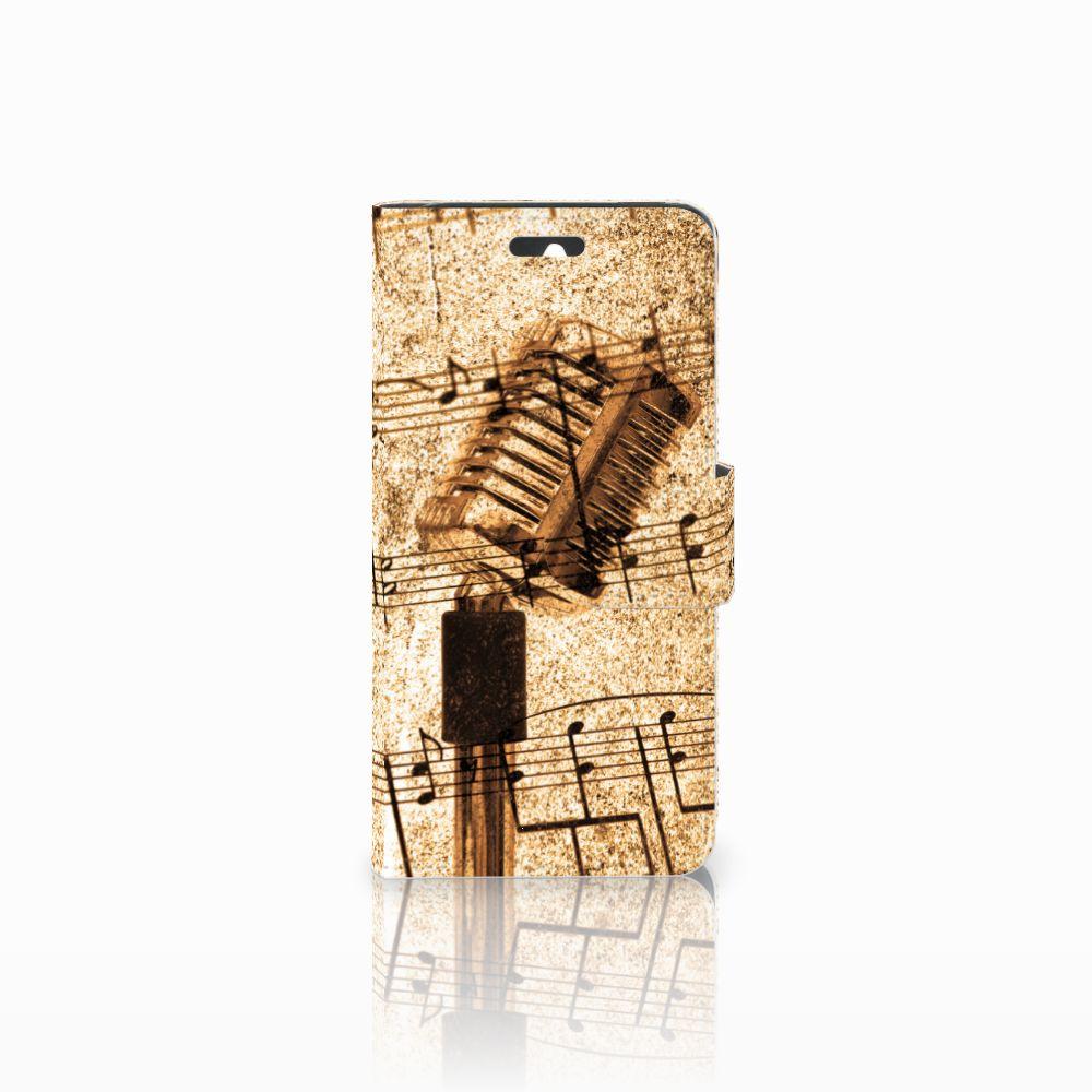 Huawei Ascend Y550 Telefoonhoesje met foto Bladmuziek