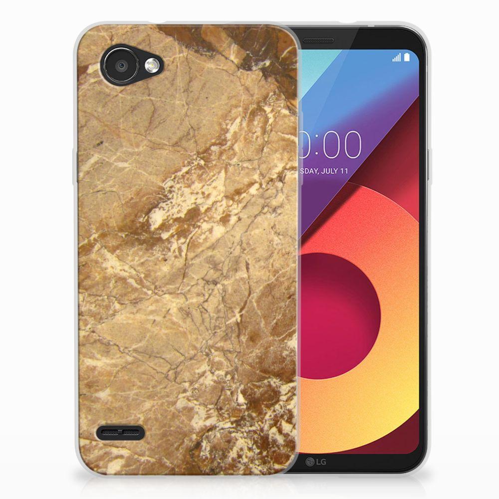 LG Q6 | LG Q6 Plus TPU Hoesje Design Marmer