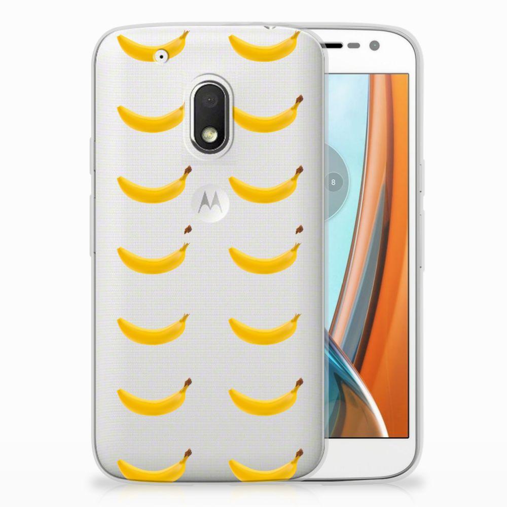 Motorola Moto G4 Play Siliconen Case Banana