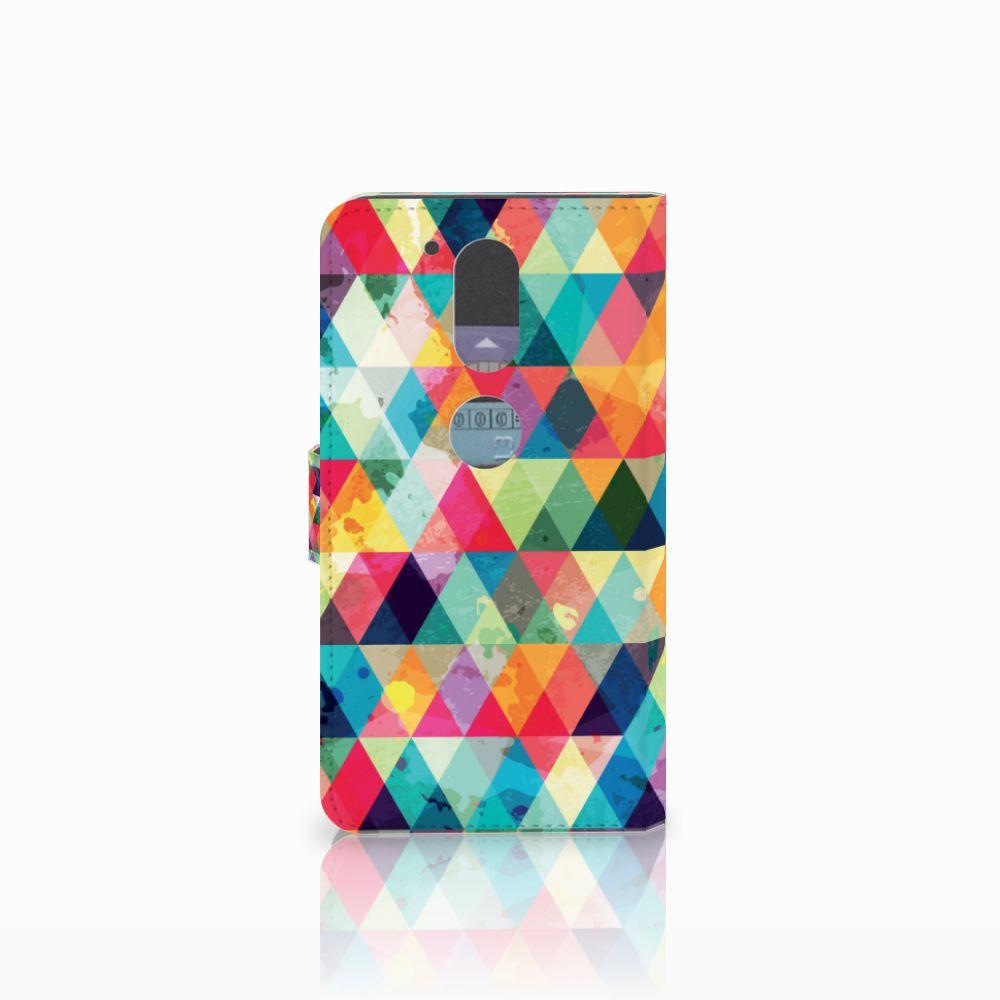 Motorola Moto G4   G4 Plus Telefoon Hoesje Geruit