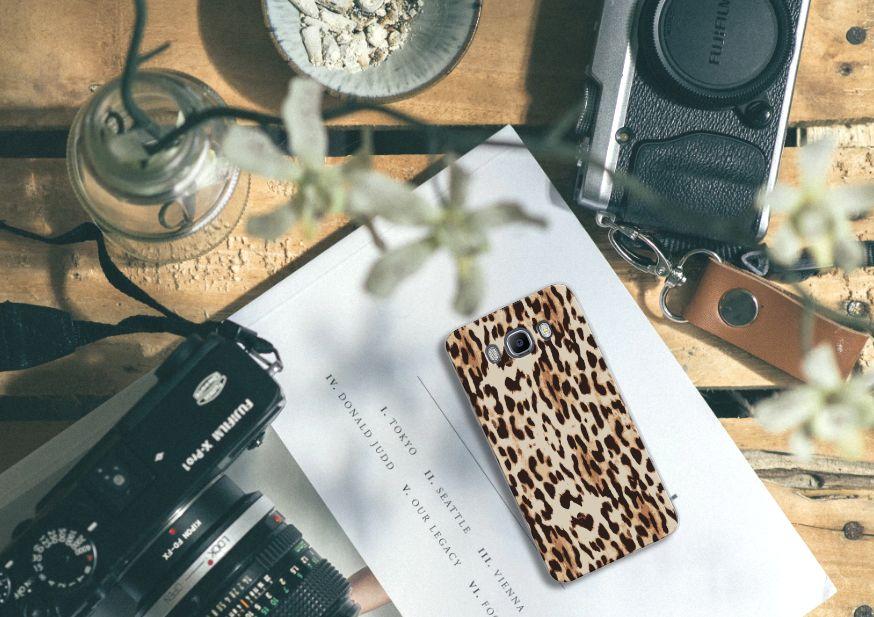 Samsung Galaxy J7 2016 Uniek TPU Hoesje Leopard