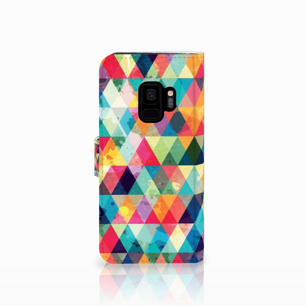 Samsung Galaxy S9 Telefoon Hoesje Geruit