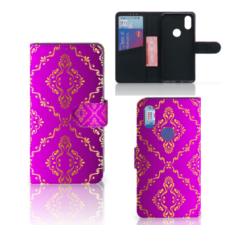 Wallet Case Xiaomi Mi Mix 2s Barok Roze