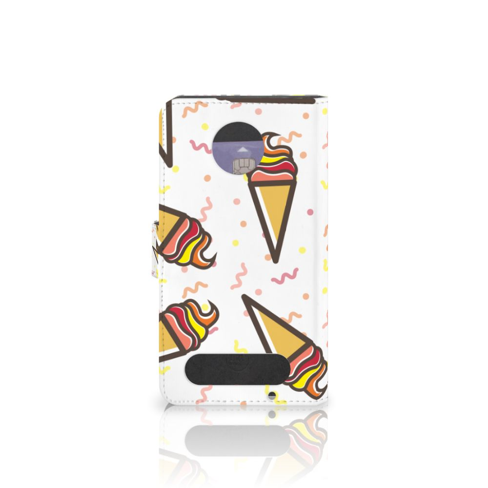Motorola Moto Z2 Force Book Cover Icecream
