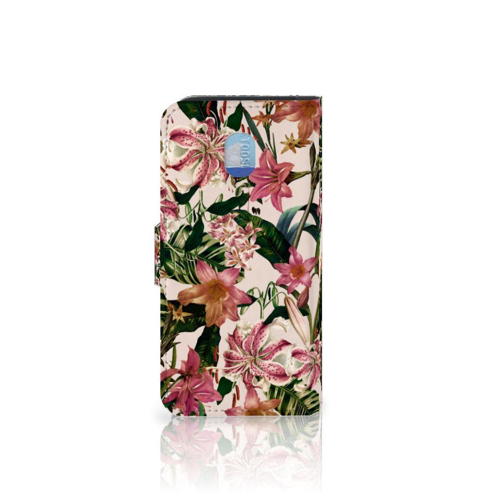 Samsung Galaxy J3 (2018) Hoesje Flowers
