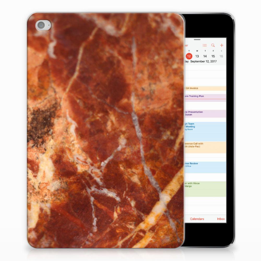Apple iPad Mini 4 | Mini 5 (2019) Tablet Back Cover Marmer Bruin