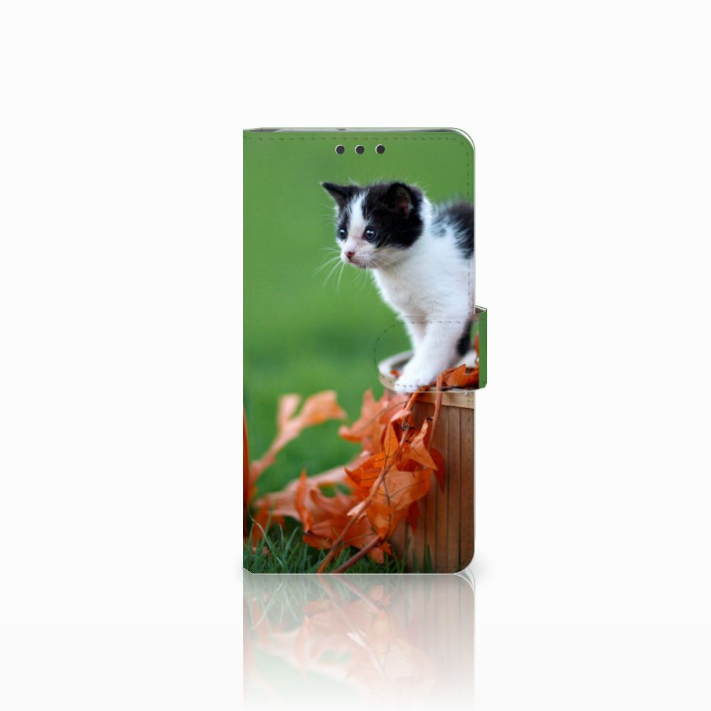 LG V30 Uniek Boekhoesje Kitten