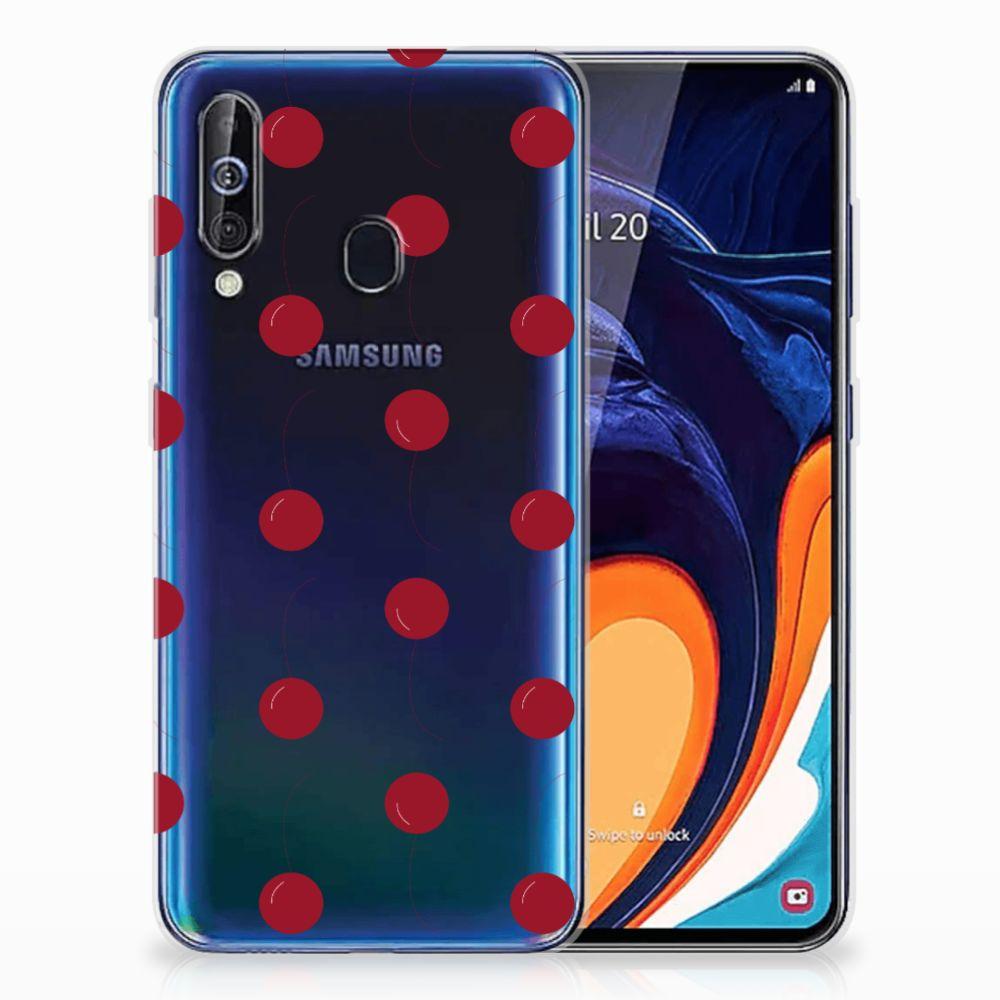 Samsung Galaxy A60 Siliconen Case Cherries