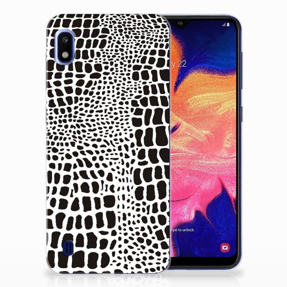 Samsung Galaxy A10 TPU Hoesje Slangenprint