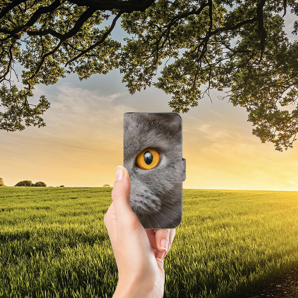 Telefoonhoesje met Pasjes iPhone 7 | 8 | SE (2020) Britse Korthaar