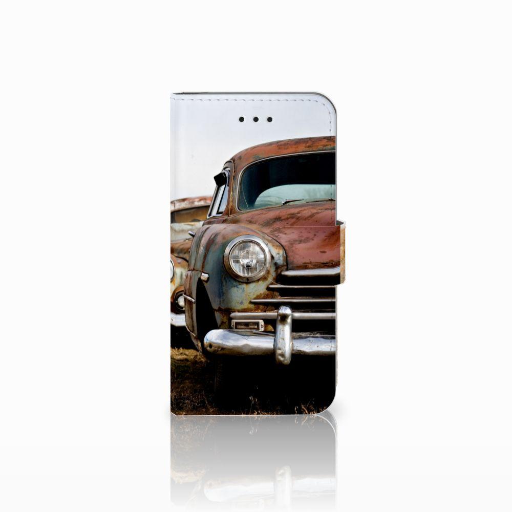 Apple iPhone X | Xs Uniek Boekhoesje Vintage Auto