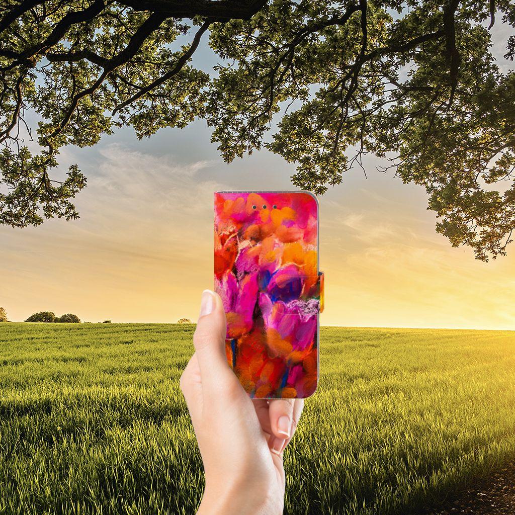 Samsung Galaxy J3 2016 Boekhoesje Design Tulips