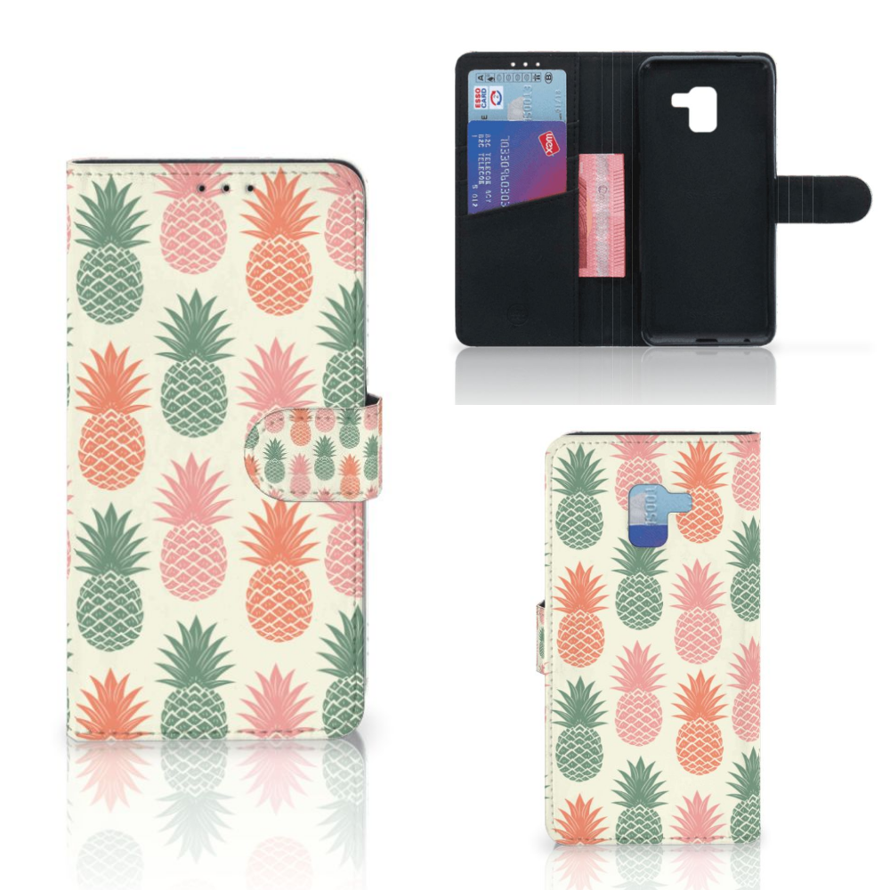 Samsung Galaxy A8 Plus (2018) Book Cover Ananas