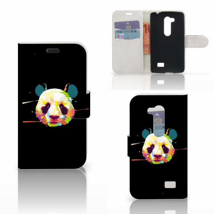 LG L Fino Leuke Hoesje Panda Color