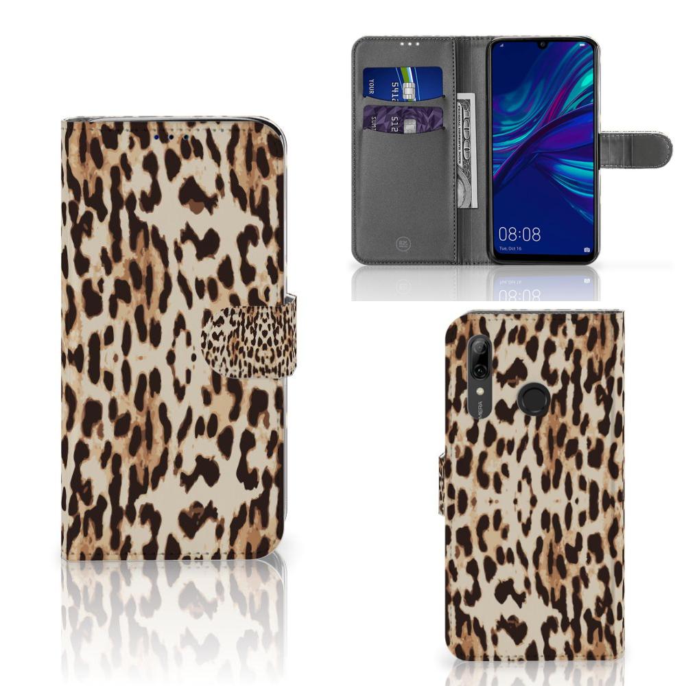Huawei P Smart Plus (2019) Telefoonhoesje met Pasjes Leopard