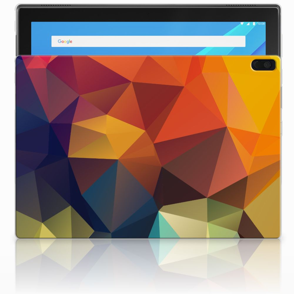 Lenovo Tab 4 10.1 Back Cover Polygon Color