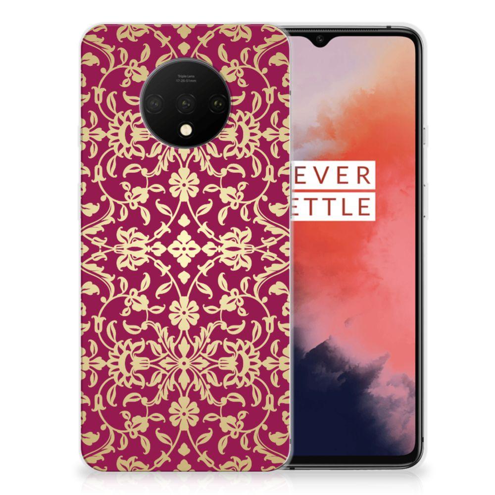 Siliconen Hoesje OnePlus 7T Barok Pink