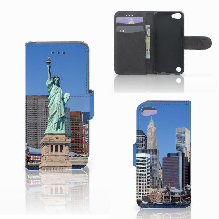 Apple iPod Touch 5 | 6 | iPod (2019) Flip Cover Vrijheidsbeeld