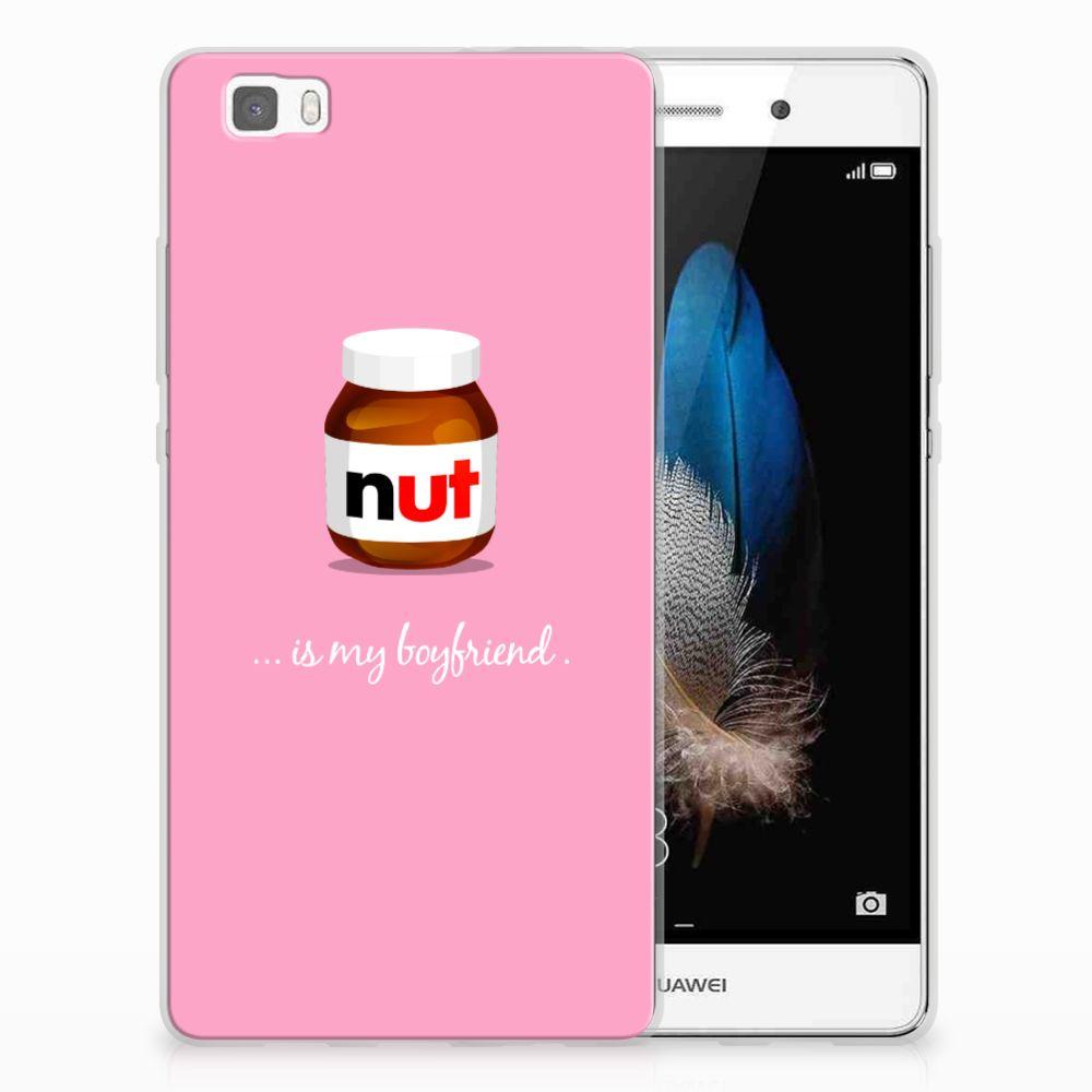 Huawei Ascend P8 Lite Uniek TPU Hoesje Nut Boyfriend