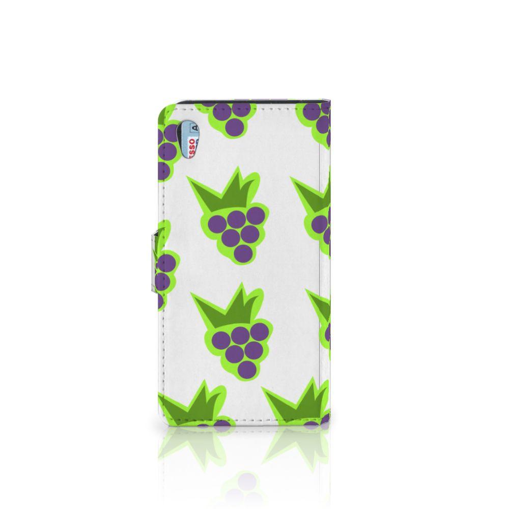 Sony Xperia Z2 Book Cover Druiven