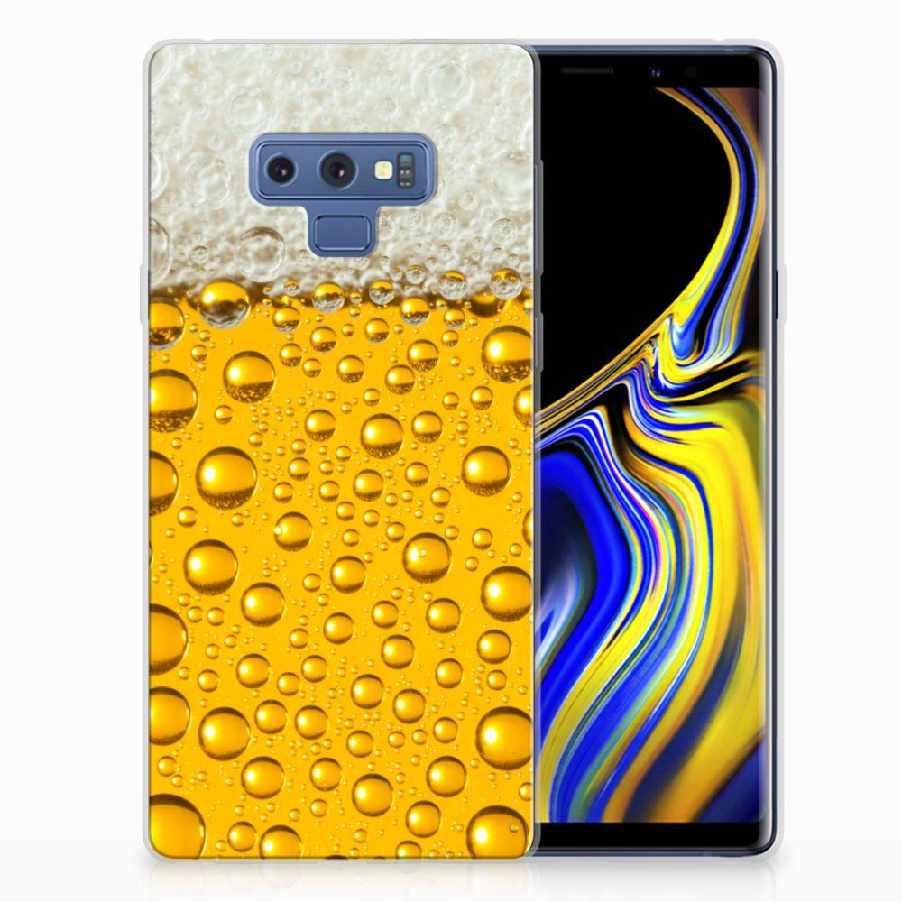 Samsung Galaxy Note 9 Siliconen Case Bier