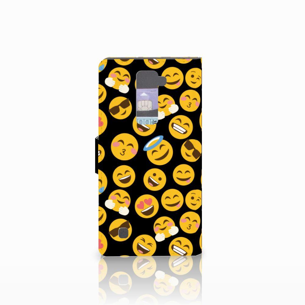 LG K10 2015 Telefoon Hoesje Emoji