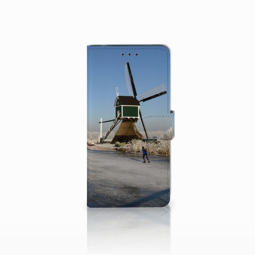 Samsung Galaxy J6 Plus (2018) Flip Cover Schaatsers